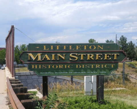 main street sign littleton co